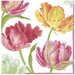 servilletas-de-tulipanes