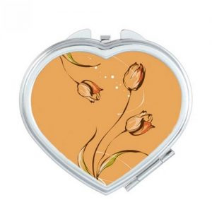 producto-espejos-tulipán-portátil-corazon-marron