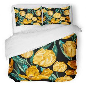 producto-funda-nórdica-tulipanes-capullo-amarillo