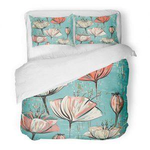 producto-funda-nórdica--tulipanes-fondo-celeste