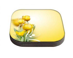 producto-posavasos-tulipán-amarillo