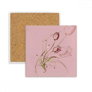 producto-posavasos-tulipán-piedra.absorvente-rosa