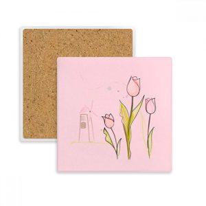 producto-posavasos-tulipán-piedra.absorvente-rosa-molinoViento