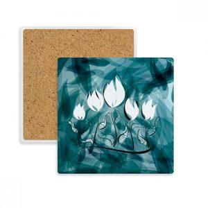 producto-posavasos-tulipán-piedra.absorvente-verde.aguamarina
