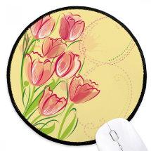 producto-alfombrilla-redonda-tulipanes-rojos