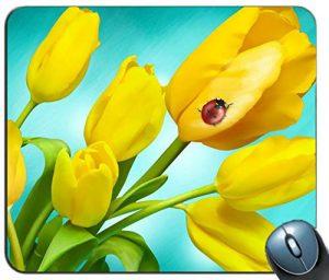 producto-alfombrilla-tulipanes-amarillos-mariquita