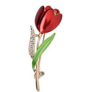 producto-broche-tulipanes-flor-roja