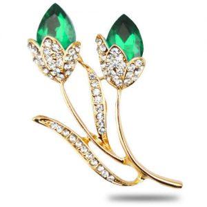 producto-broche-tulipanes-flor-verde