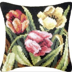 producto-cojin-tulipanes-punto-de-cruz