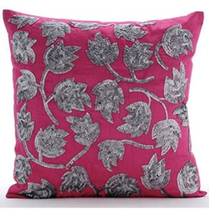 producto-cojin-tulipanes-rosado-lentejuelas