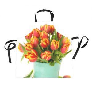 producto-delantal-ramo-tulipanes-anaranjados