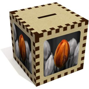 producto-hucha-aglomerado-tulipan-naranja