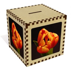 producto-hucha-aglomerado-tulipan-naranja-doble