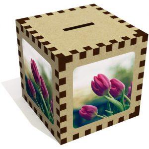producto-hucha-aglomerado-tulipanes-rosas-trio