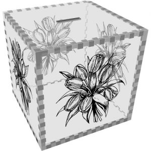 producto-hucha-transparente-flores-tulipanes