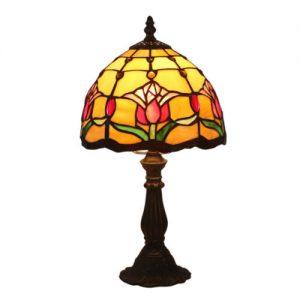 producto-lampara-tulipanes-rojos-vidrio