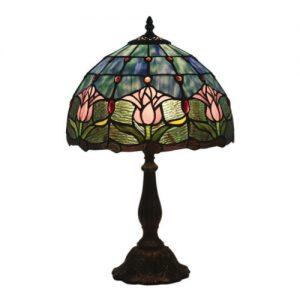 producto-lampara-tulipanes-rosados-vidrio