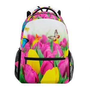 producto-mochila-tulipanes-mariposas-casual