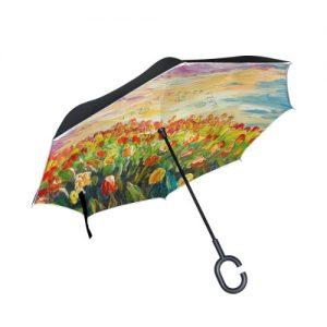 producto-paraguas-cuadro-tulipanes-oleo