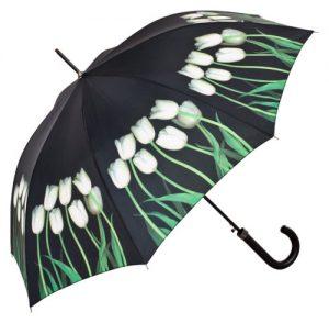 producto-paraguas-tulipanes-blancos-fondo-negro