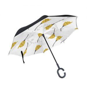 producto-paraguas-tulipanes-dibujos-amarillos