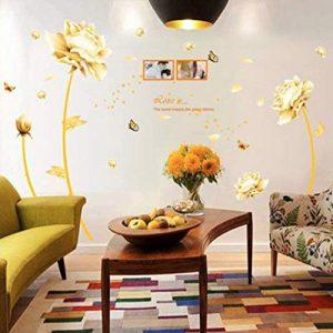 producto-pegatinas-tulipanes-dorados-salon