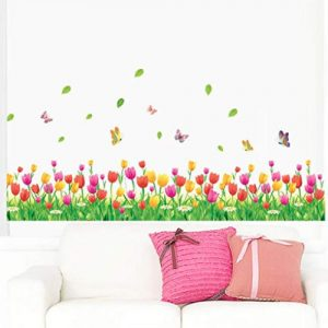 producto-pegatinas-tulipanes-fondo-jardin