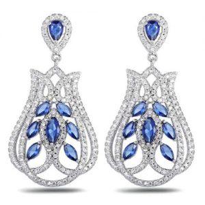 producto-pendientes-tulipanes-brillantes-azules