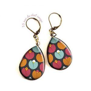 producto-pendientes-tulipanes-colores-artesanal