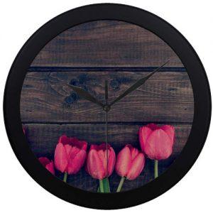 producto-reloj-pared-tulipanes-rosas