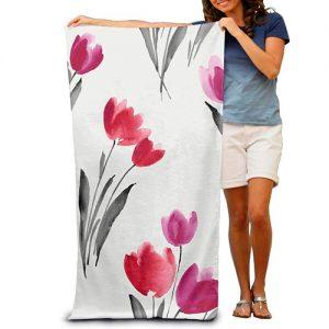 producto-toalla-tulipán-blanca-rojo