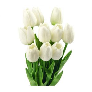 10-tulipanes-blancos-artificiales