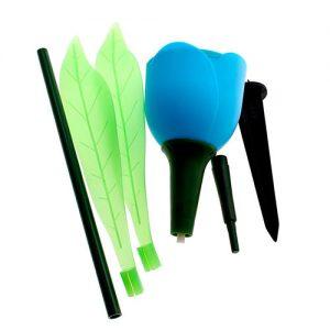 Tulipán-azul-Luz-Patio