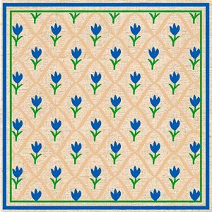 Tulipán-azul-servilletas-papel
