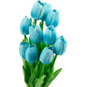 Tulipán-rosa-10-piezas-realista