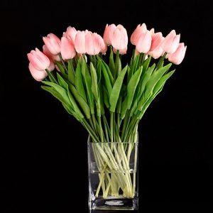 Tulipán-rosa-ramo