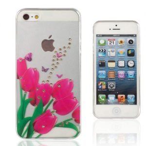 carcasa-flexible-tulipanes-iphone