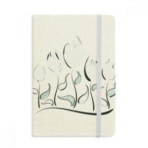 cuaderno-tela-cubierta-dura-tulipanes