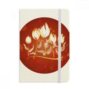 cuaderno-tela-cuerta-dura-tulipanes