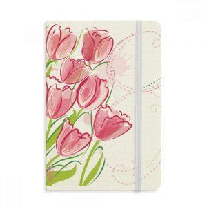cuaderno-tela-dura-flor-tulipan