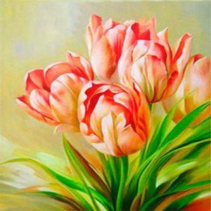 cuadro-tulipanes-rosas