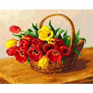 cuadro-tulipanes-cesta-rosas