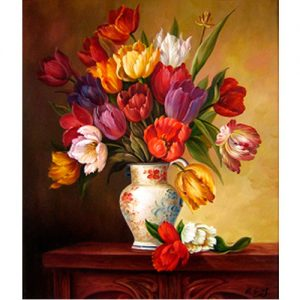 cuadro-tulipanes-jarrón-pro