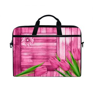 funda-laptop-tulipanes-rosa-madera