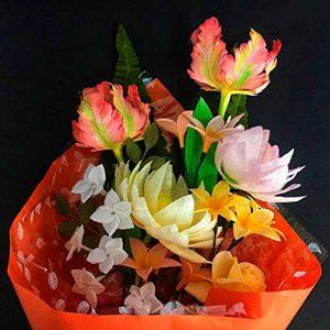 ramo-bouquet-tulipán-papagayo