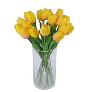 ramo-de-tulipanes-amarillos-artificiales