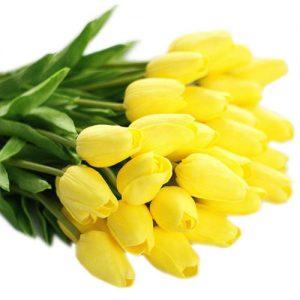 ramo-flores-tulipanes-amarillos