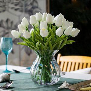 ramo-jarron-tulipanes-blancos