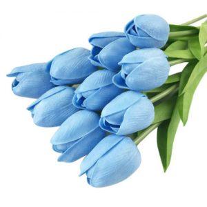 ramo-tulipanes-azul-latex