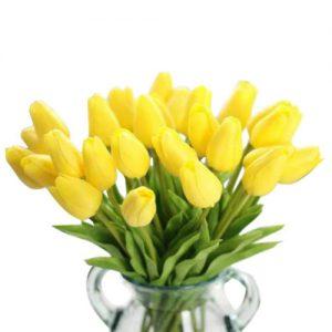 ramos-tulipanes-amarillos-sinteticos